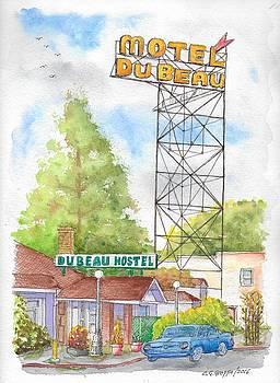 Du Beau Motel, Flagstaff, Arizona by Carlos G Groppa