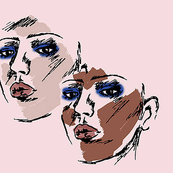 Dual Portrait by Cortney Herron