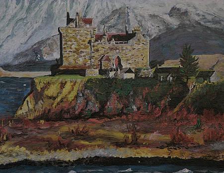 Duart castle of Scotland by Patricia Hovey