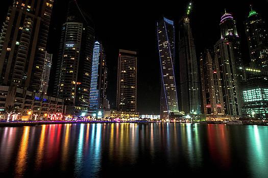 Dubai Marina by Mike Dunn