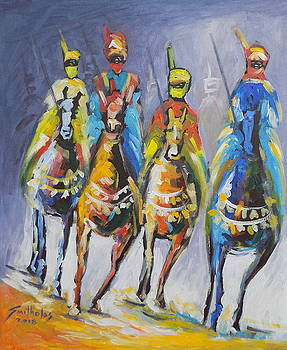 Duban Riders by Olaoluwa Smith