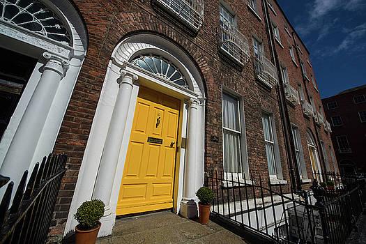 Mike Shaw - Dublin Door Yellow