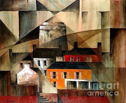 Val Byrne - DUBLIN... Howth martello Tower