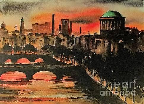 Val Byrne - Dublin Sunset