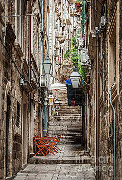 Dubrovnik, Croatia by Helen Woodford