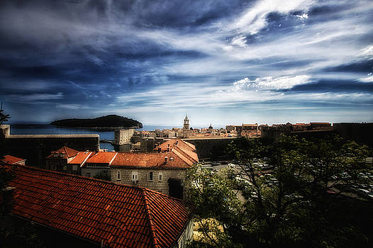 Dubrovnik Croatia - Rooftop View by Russell Mancuso