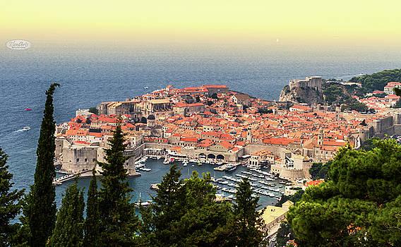 Elenarts - Elena Duvernay photo - Dubrovnik old city on the Adriatic Sea, South Dalmatia region, C