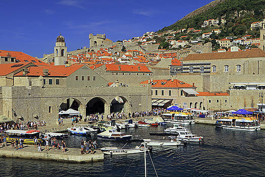 Dubrovnik Old Town Port by Tony Murtagh