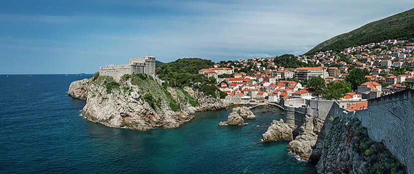 Dubrovnik Panorama by Alida Thorpe