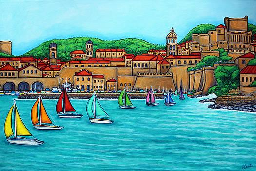 Dubrovnik Regatta by Lisa  Lorenz