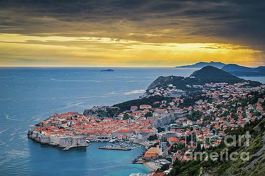 Dubrovnik Sunset by JR Photography