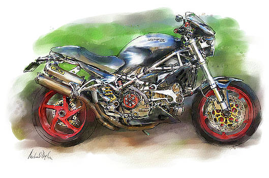 Ducati Monster by Michael Doyle