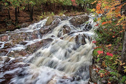 Duchesnay Falls by Brian Boudreau