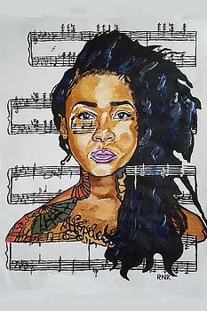 Mood Grae Indigo by Rachel Natalie Rawlins