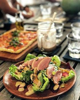 Duck Breast Salad - Smoked Duck Breast by Arya Swadharma