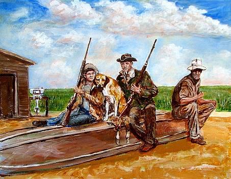 Duck Shoot by Bill Roberts