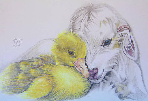 Duckling and Kid by Emma Lyon