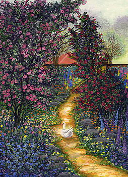 Duck's Garden by Bonnie Cook