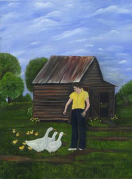 Ducks In A Row by Linda Clark