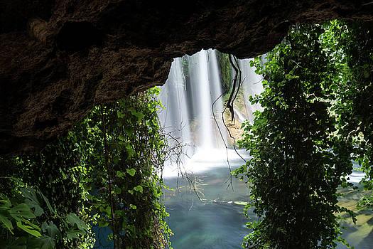 Duden waterfall by Bener Kavukcuoglu