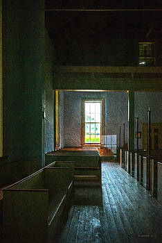 Dudley's Chapel Interior- Painting Effect by Brian Wallace