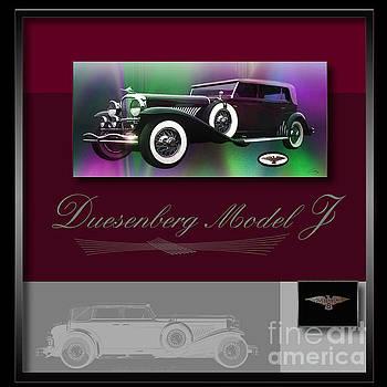 Duesenberg Model J by Curt Johnson