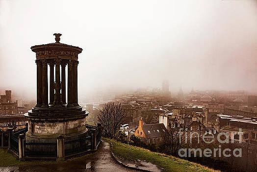 Sophie McAulay - Dugald Stewart monument Glasgow