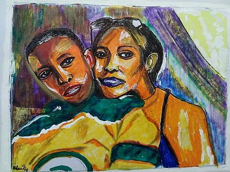Duke And Messie - Family Portrait 01 - Sierra Leone by Mudiama Kammoh