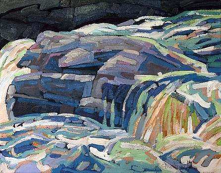 Dumoine Granite Ledge by Phil Chadwick