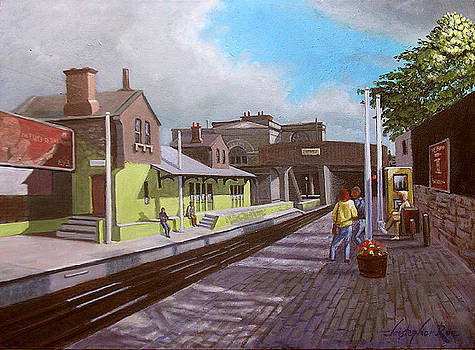 SOLD-Dun Laoghaire Dart Station by Christopher Roe