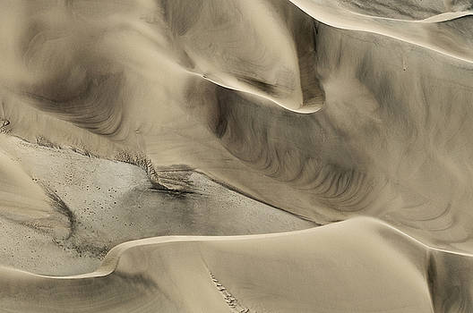 Dune Abstract by Olwen Evans