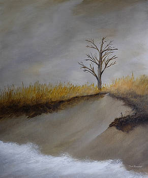 Dune Tree 2 by Dick Bourgault