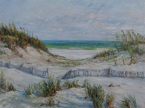 Dunes and Fences by Theresa Grillo Laird