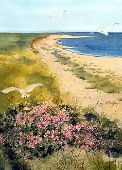 Dunes and Roses by Lizbeth McGee