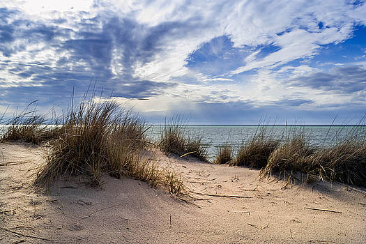 Dunes and Sky by Ashleigh Mowers