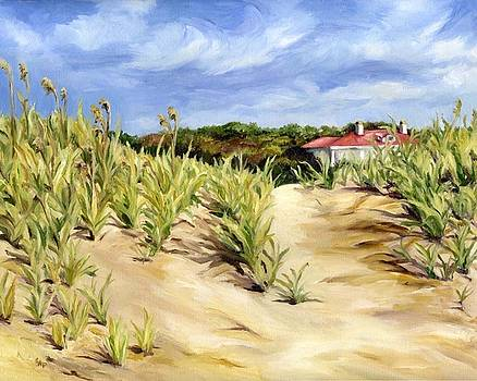Dunes at Seabrook by Cheryl Pass