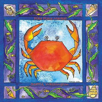Dungeness Crab by Pamela  Corwin