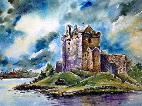 Dunguaire Castle, Ireland by Lynn Cheng-Varga