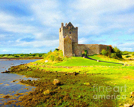 Dunguaire Castle by Joseph Re
