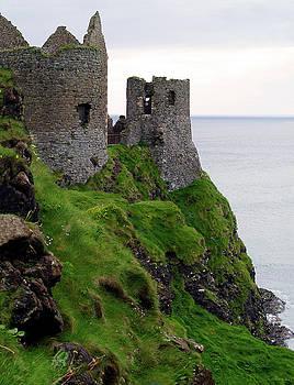 Dunluce Castle II by Patricia Griffin Brett