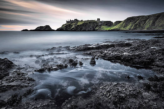 Dunnottar Dawn by Dave Bowman