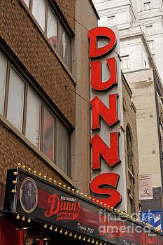 Dunn's Restaurant Montreal by John  Mitchell