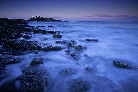 Dunstanburgh Castle, Northumberland, England by David Stanley