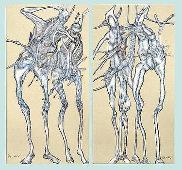 Duoblepair by Wolfgang - bookwood - Buchholz