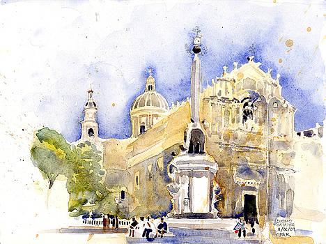 Duomo Catania by Omar Jaramillo