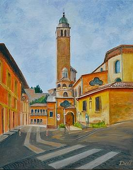 Duomo di Asolo by Dai Wynn