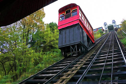 Dennis Cox WorldViews - Duquesne Incline