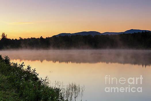Durand Lake Sunrise - Randolph New Hampshire by Erin Paul Donovan