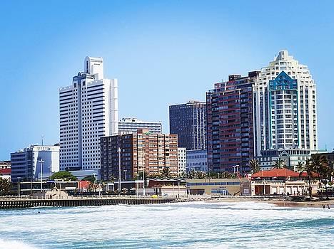 Durban Skyline from Bay of Plenty by Jeremy Hayden