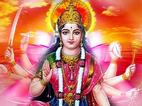 Durga Devi by Khalil Art